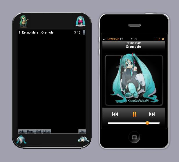 Vocalova - Hatsune Miku Google Chrome Theme 3